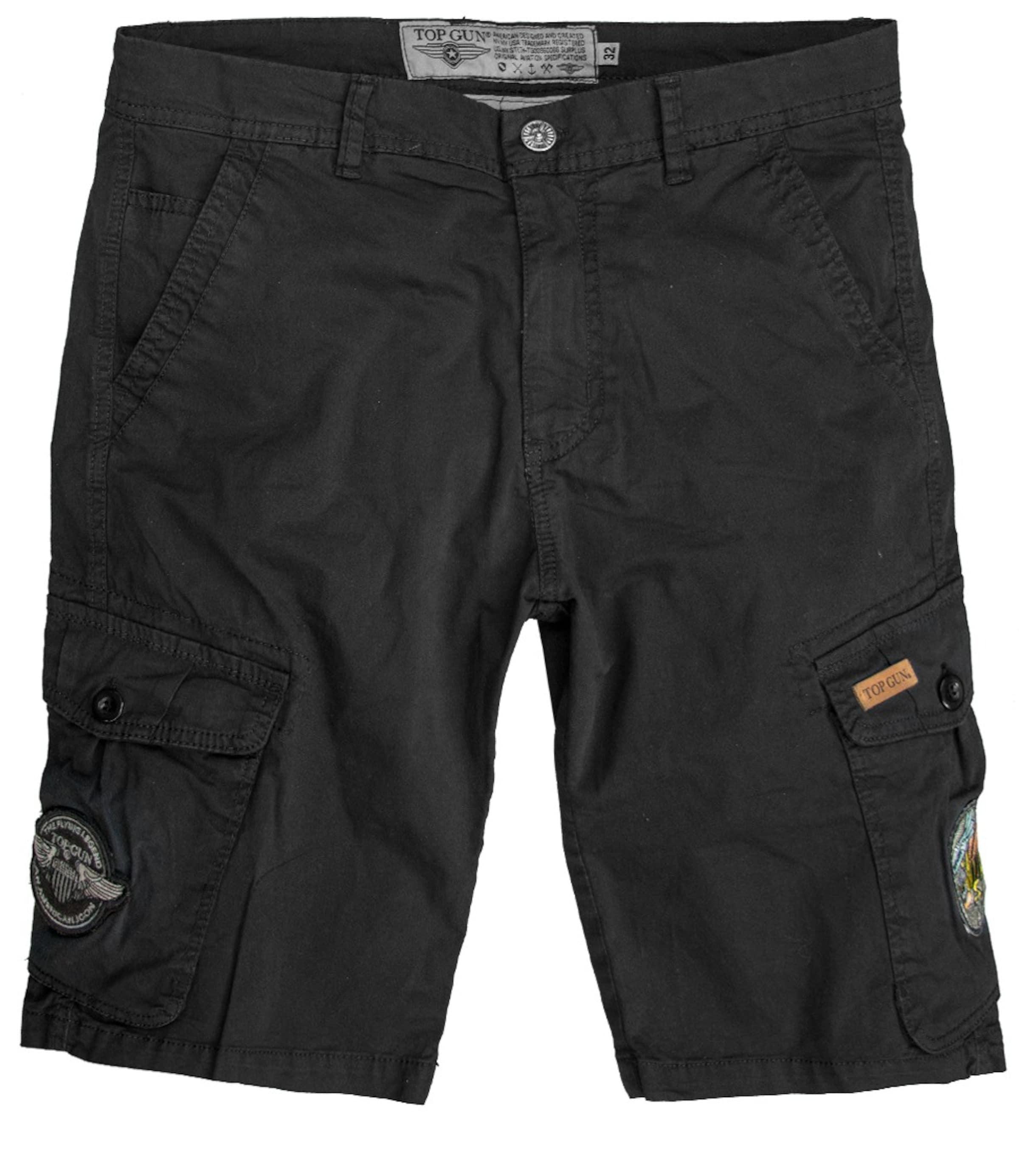 Gun 'stinger' Top Schwarz In Shorts sQrhxCdt