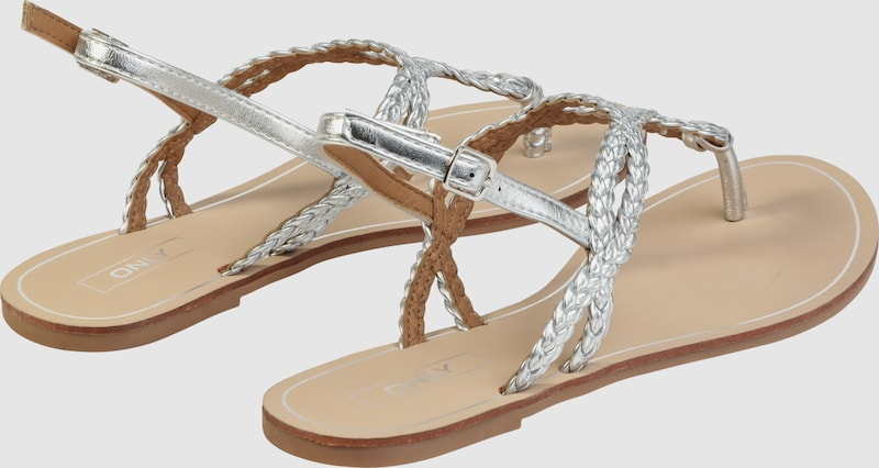 ONLY Sandalette 'MARGIT BRAIDED'