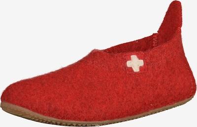 Living Kitzbühel Hausschuh in rot, Produktansicht