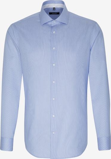 SEIDENSTICKER Zakelijk overhemd 'X-Slim' in de kleur Blauw: Vooraanzicht