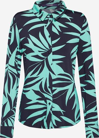LAUREL Bluse in grün / schwarz, Produktansicht