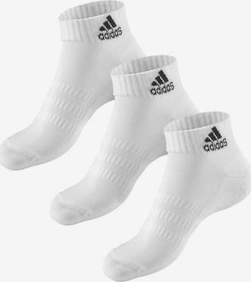 ADIDAS PERFORMANCE Socken in Weiß