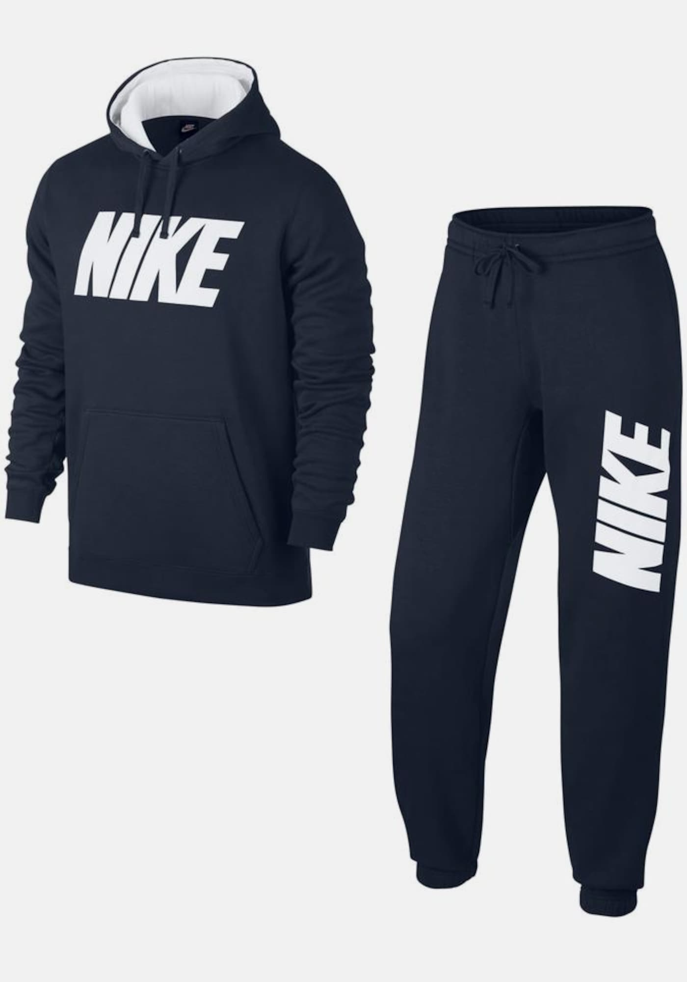 nike sportswear joggingpak 39 m nsw track suit fleece gx jdi 39 in blauw about you. Black Bedroom Furniture Sets. Home Design Ideas