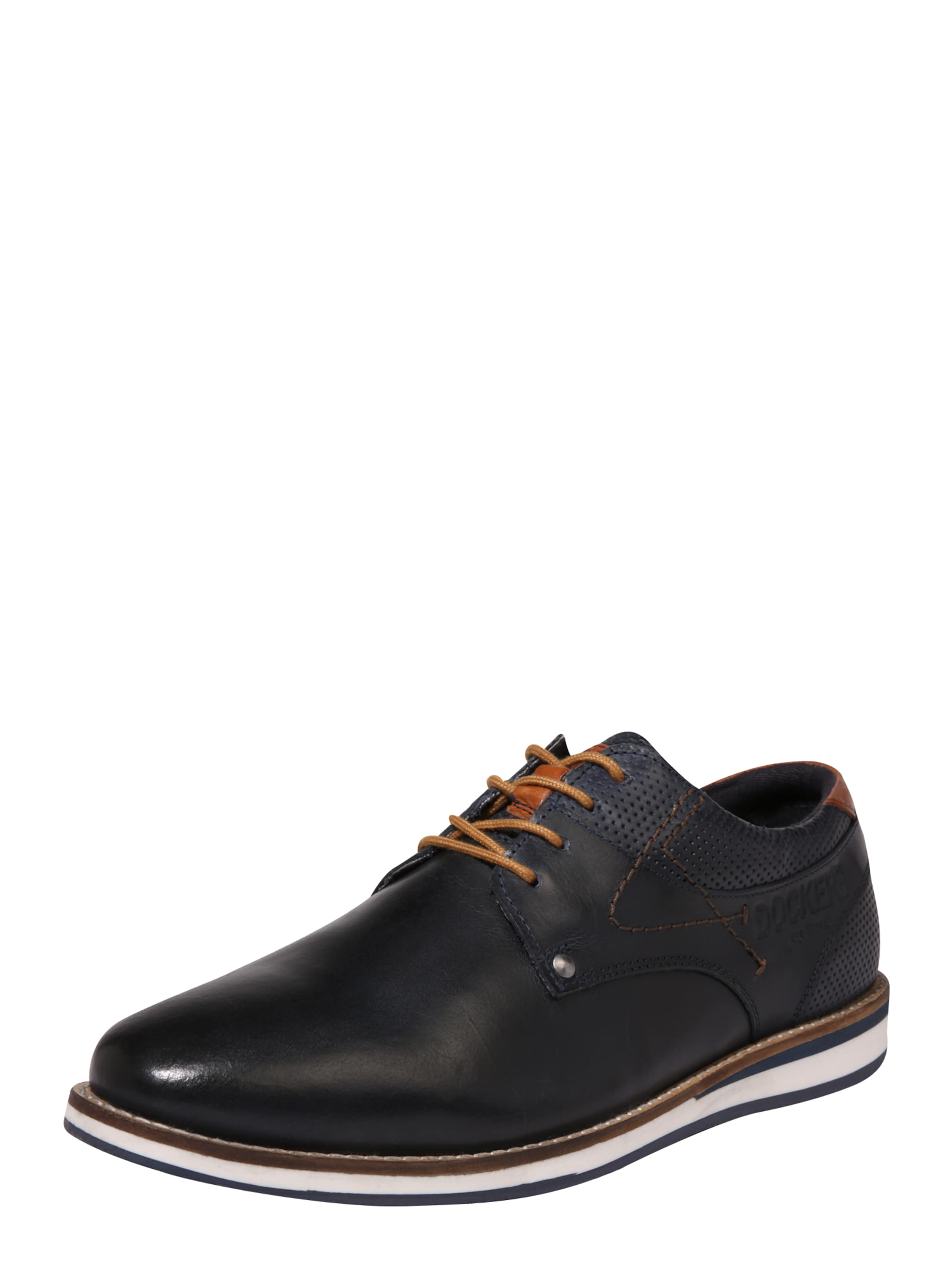 By Dockers Gerli NavyCognac In Halbschuhe kn0X8wNPO