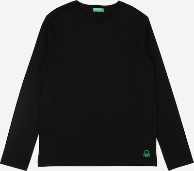 UNITED COLORS OF BENETTON Shirt in mint / schwarz, Produktansicht