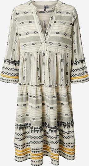 VERO MODA Robe 'Astrid' en jaune / noir / blanc, Vue avec produit