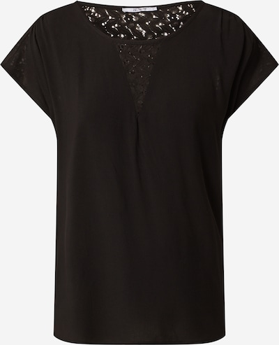 Bluză 'Amely' Hailys pe negru: Privire frontală
