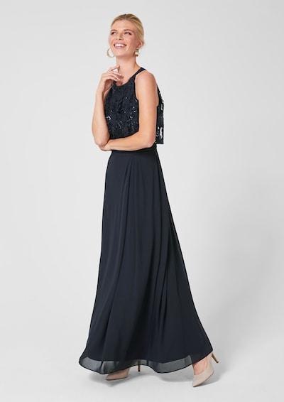 s.Oliver BLACK LABEL Společenské šaty - noční modrá, Model/ka