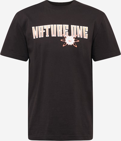 ABOUT EVERYONE T-Shirt 'Nature One' in schwarz, Produktansicht