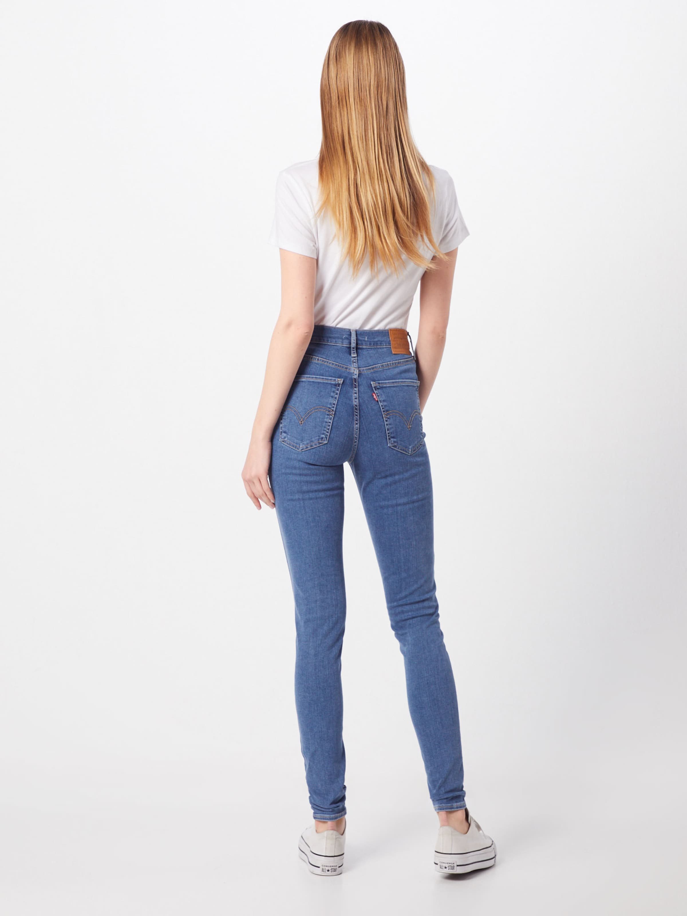 In Blauw Levi's Jeans 'mile High' Denim WIDE9YH2