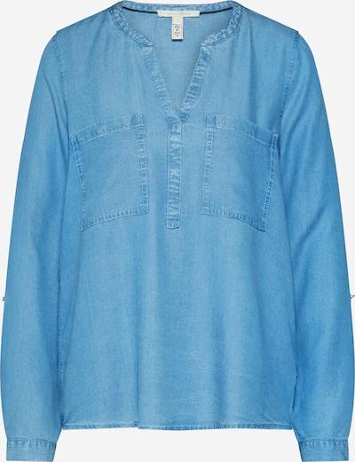TOM TAILOR DENIM Tunika-Bluse in blue denim, Produktansicht