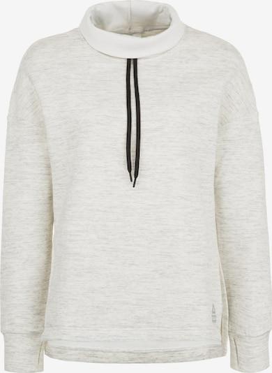REEBOK Sweatshirt in beige: Frontalansicht