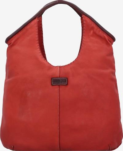 Caterina Lucchi Schultertasche in rot / dunkelrot, Produktansicht