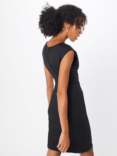 Trumpa kokteilinė suknelė 'India Slim' iš Kaffe , spalva - juoda: Vaizdas iš galinės pusės