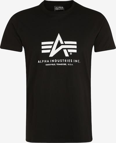 ALPHA INDUSTRIES T-Shirt en noir, Vue avec produit