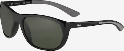 Ochelari de soare Ray-Ban pe negru, Vizualizare produs
