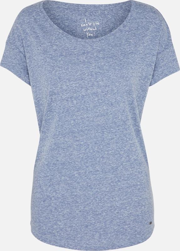 O'neill Essentials' En 'lw Chiné T shirt Bleu nkw0OP