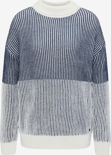 MUSTANG Pullover 'Camilla T' in beige / dunkelblau, Produktansicht