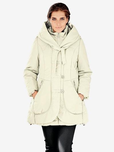 heine Winter coat in Cream, View model