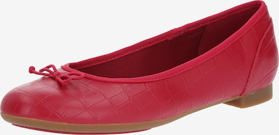 CLARKS Ballerina 'Couture bloom' in fuchsia, Produktansicht