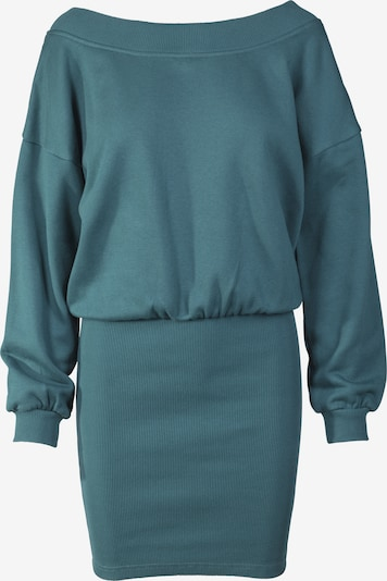 Urban Classics Robe en bleu-gris, Vue avec produit