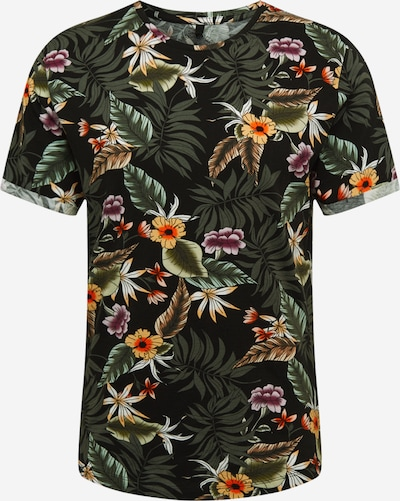 Key Largo Shirt 'MT PLANTS' in schwarz, Produktansicht