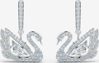 Swarovski Náušnice 'Dancing Swan' - strieborná / priehľadná, Produkt