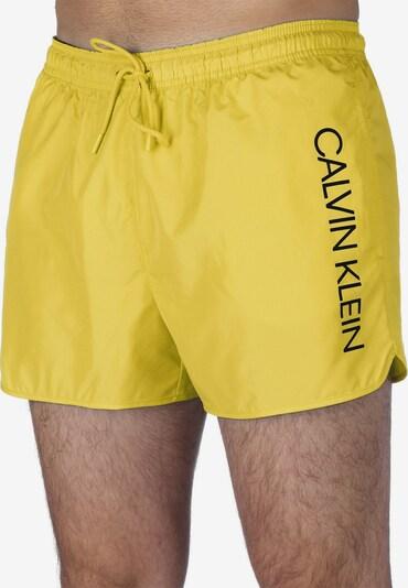 Calvin Klein Underwear Badeshorts in gelb, Produktansicht