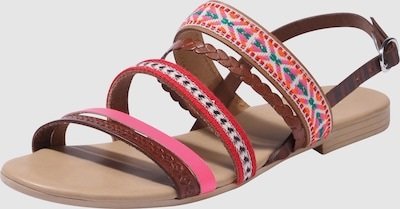 ABOUT YOU Sandaal 'REBECCA' in Pink