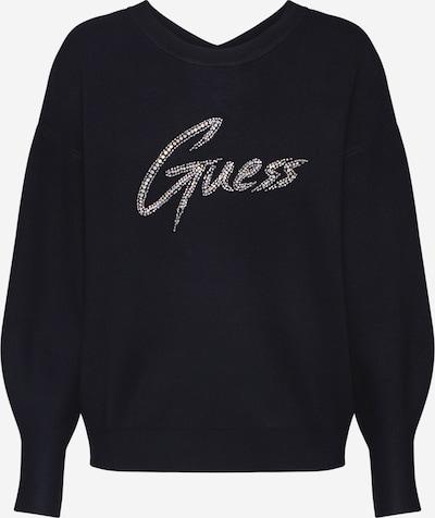 GUESS Pullover 'LOLA' in schwarz / silber, Produktansicht