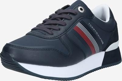 Sneaker low 'ANNIE' TOMMY HILFIGER pe albastru închis / roșu / alb, Vizualizare produs