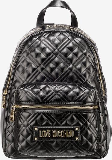 Love Moschino Freizeitrucksack in schwarz, Produktansicht
