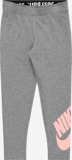 Nike Sportswear Leggings in anthrazit / koralle, Produktansicht