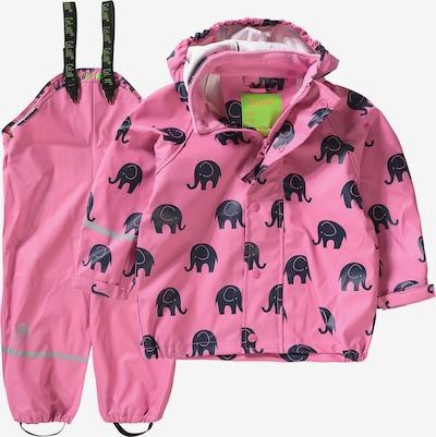 CELAVI Regenset in pink / schwarz, Produktansicht