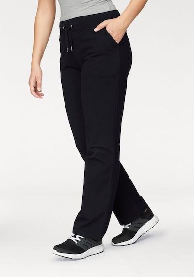 VENICE BEACH Jogginghose in schwarz, Modelansicht