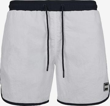 Pantaloncini da bagno di Urban Classics in bianco
