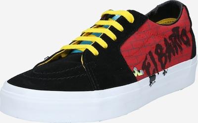 VANS Sneakers laag 'UA SK8-Low' in de kleur Geel / Rood / Zwart, Productweergave