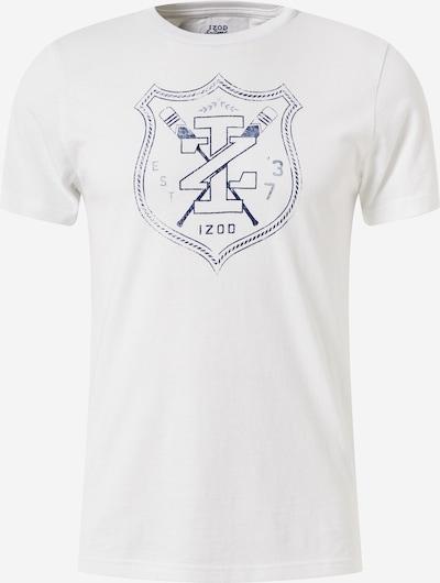 IZOD T-Shirt 'ROVER' en bleu foncé / blanc, Vue avec produit