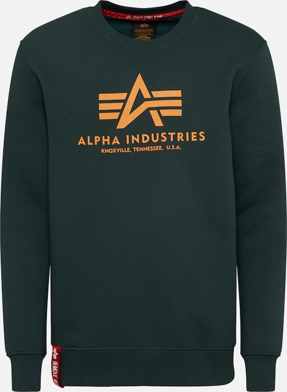 In Industries Sweatshirt 'basic' SparSinaasappel Alpha JTKc3ulF1