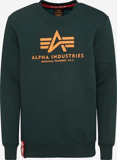 ALPHA INDUSTRIES Sweatshirt i grön, Produktvy