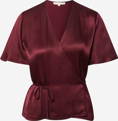 Soft Rebels Blouse in de kleur Bordeaux, Productweergave