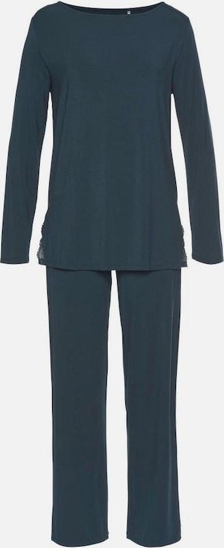 CALIDA Pyjama in petrol  Bequem und günstig