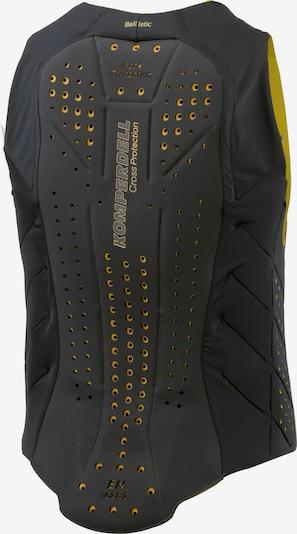 KOMPERDELL Protektorenweste 'Ballistic Vest' in gelb / schwarz, Produktansicht