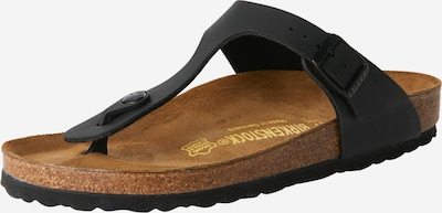 BIRKENSTOCK Open shoes 'Gizeh' in Black, Item view
