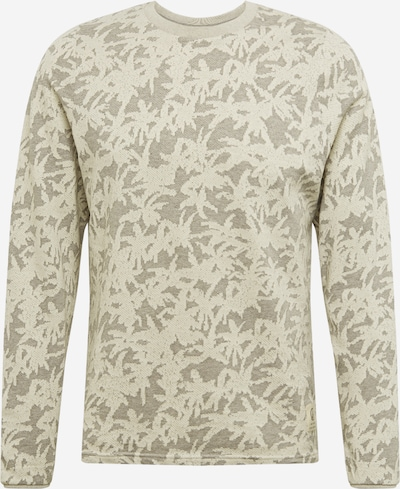 Megztinis iš bleed clothing , spalva - pilka / balta, Prekių apžvalga