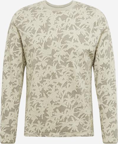 bleed clothing Pull-over en gris / blanc, Vue avec produit