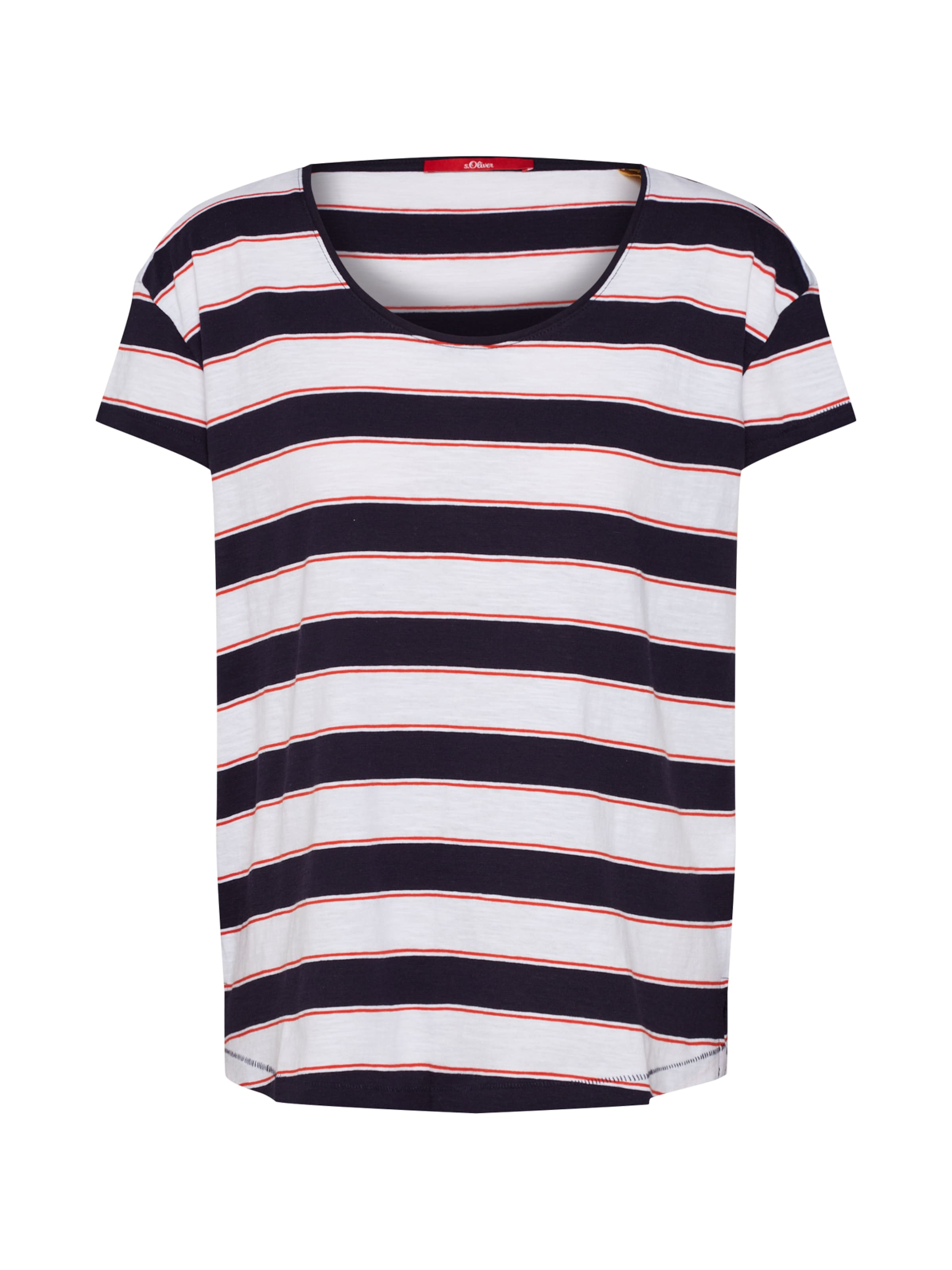 Label In Red oliver NavyRot S Shirt Weiß 80Nnmwv