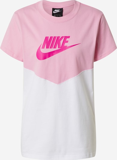 Nike Sportswear T-Krekls pieejami rozā / balts, Preces skats
