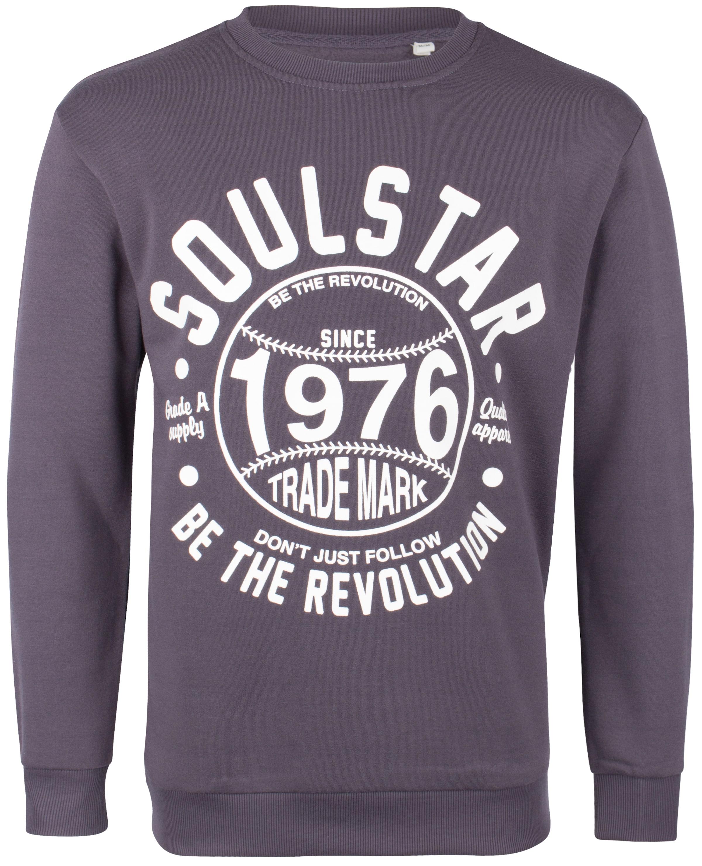 Soulstar En Sweat shirt Gris FoncéBlanc OnPk8X0w