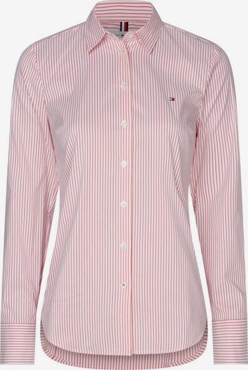 TOMMY HILFIGER Blouse 'Sally' in de kleur Rood / Wit, Productweergave